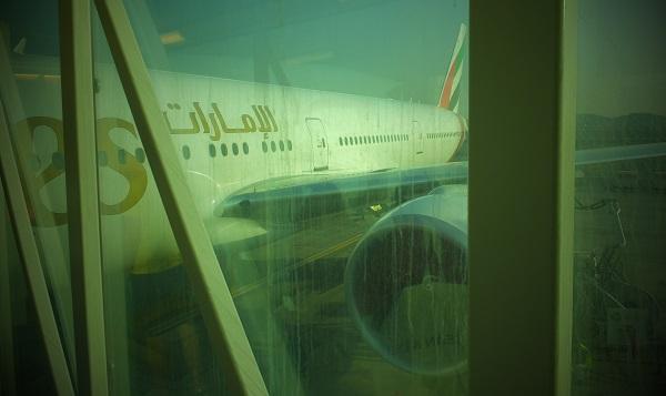 エミレーツボーイング777_03_スペイン旅行出発_ある日本人観光客のスペイン旅行記