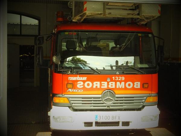 消防車00_1日目① スペイン・マドリード到着_ある日本人観光客のスペイン旅行記