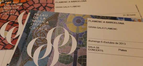 カタルーニャ音楽堂チケット_スペイン旅行準備_ある日本人観光客のスペイン旅行記