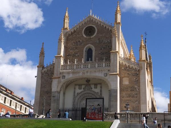 サンヘロニモエルレアル教会00_3日目1プラド美術館_ある日本人観光客のスペイン旅行記