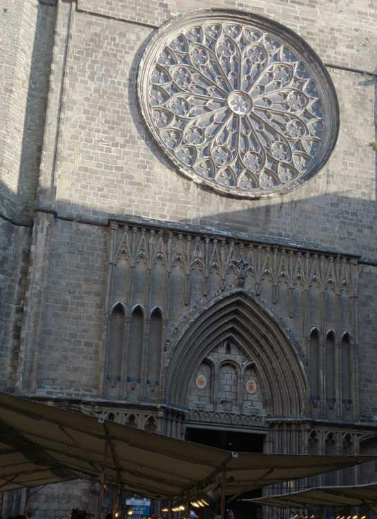 サンタマリアデルピ教会00_4-3バルセロナ_ある日本人観光客のスペイン旅行記