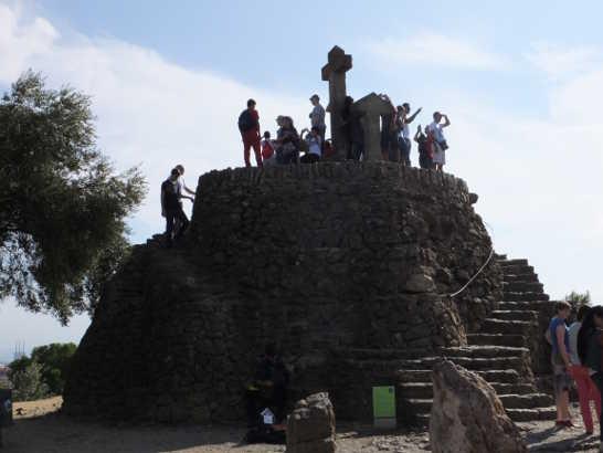 グエル公園05_バルセロナ5-1ある日本人観光客のスペイン旅行記