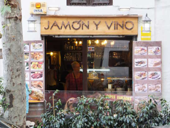 jamonyvino00レストラン_バルセロナ5-3ある日本人観光客のスペイン旅行記