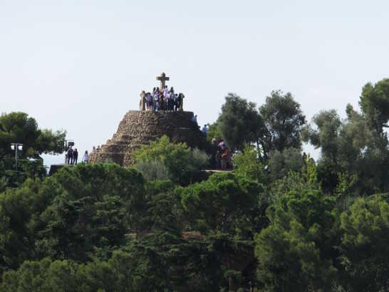 グエル公園10_バルセロナ5-1ある日本人観光客のスペイン旅行記