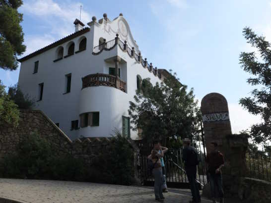 グエル公園11_バルセロナ5-1ある日本人観光客のスペイン旅行記