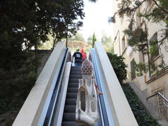 グエル公園03_バルセロナ5-1ある日本人観光客のスペイン旅行記