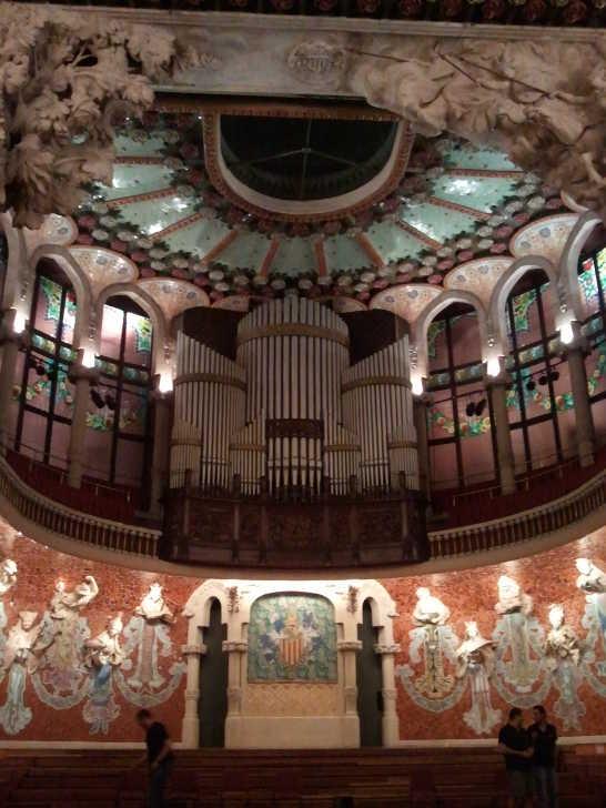 カタルーニャ音楽堂10_バルセロナ5-7ある日本人観光客のスペイン旅行記