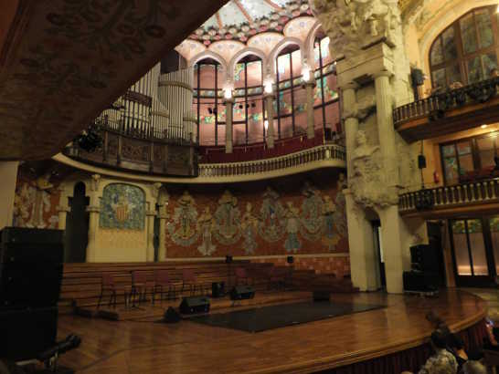 カタルーニャ音楽堂02_バルセロナ5-7ある日本人観光客のスペイン旅行記