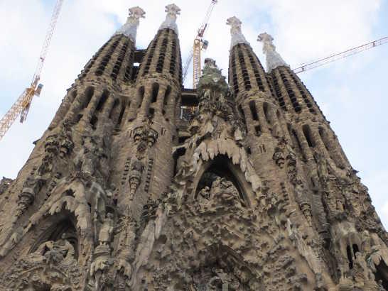 サグラダファミリア00画像_バルセロナ5-4ある日本人観光客のスペイン旅行記