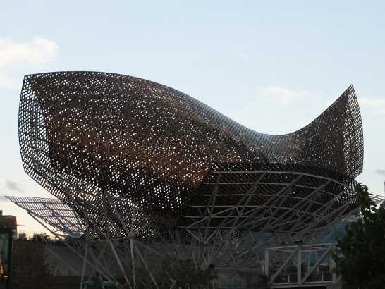 バルセロネータ00夕陽_バルセロナ5-6ある日本人観光客のスペイン旅行記
