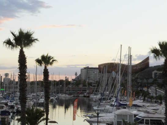 バルセロネータ04ヨット_バルセロナ5-6ある日本人観光客のスペイン旅行記