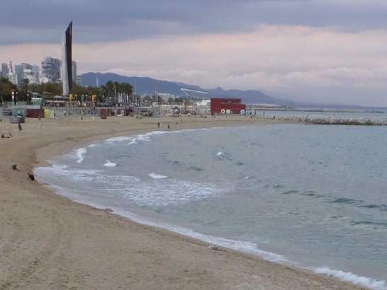 バルセロネータ05海岸_バルセロナ5-6ある日本人観光客のスペイン旅行記