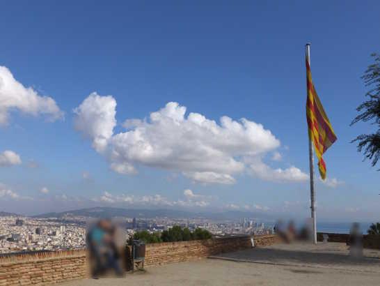 モンジェイク城13_バルセロナ_ある日本人観光客のスペイン旅行記