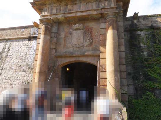 モンジェイク城01_バルセロナ_ある日本人観光客のスペイン旅行記