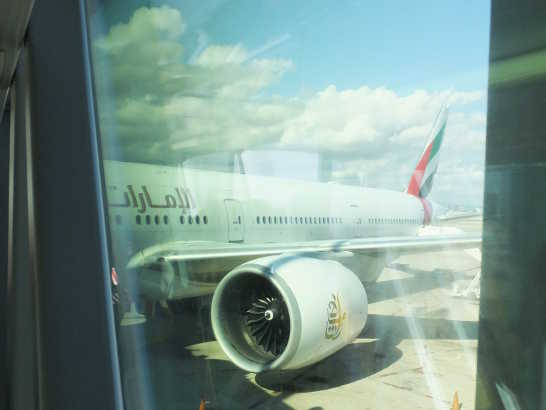 エミレーツ00_バルセロナエルプラット空港_ある日本人観光客のスペイン旅行記