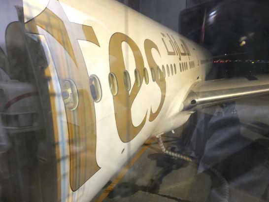 ボーイング77700_エミレーツ_スペイン旅行記2014