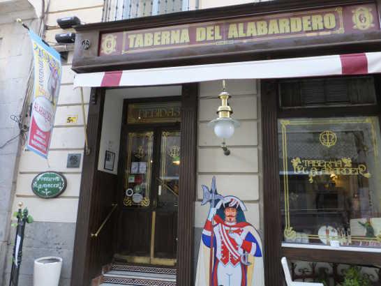 タベルナデルアラバルデロ01_マドリードバル_スペイン旅行記