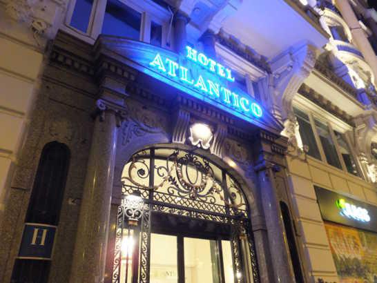 ホテルアトランティコ00_マドリード_スペイン旅行記2014