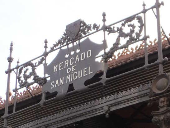 サンミゲル市場00_マドリード_スペイン旅行記2014