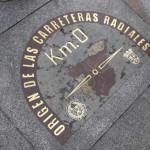 Day2-3 プエルタ・デル・ソル ~スペインの中心で足を写メる~
