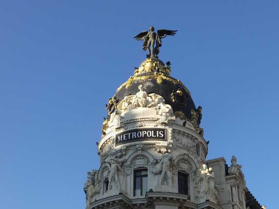 メトロポリス02_マドリード_スペイン旅行記2014