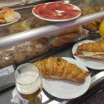 ムセオデルハモン(Museo del Jamon)はマドリッドの朝食にも!